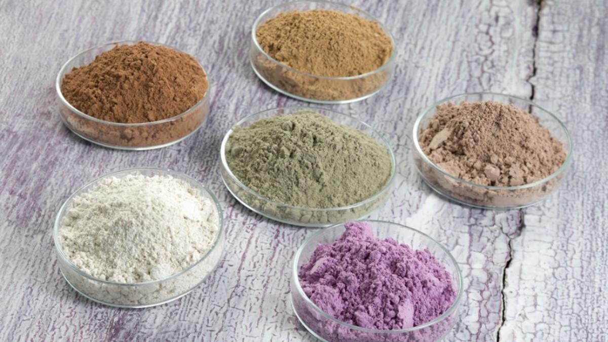 zastosowanie glinek kosmetycznych